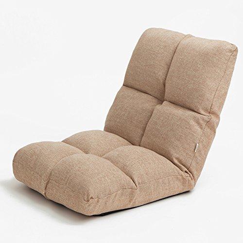 KFXL yizi Kreative Verdicken Faltenlehne Stuhl/Einzel Bett Erker Sofa/stühle/Abnehmbare Praktische Gefaltet Stuhl (5 Farben erhältlich) (Farbe : A) -