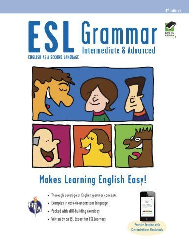 ESL Grammar: Intermediate & Advanced Premium Edition with e-Flashcards (English as a Second Language Series) by Mary Ellen Munoz Page (2013-01-16)