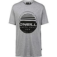 O Neill Horizon Short Sleeve T-Shirt Medium Silver Melee