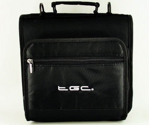 New Jet Black Deluxe Twin Compartment Shoulder Carry Case Bag for the HP ElitePad 900 G1 Tablet – Cover & Accessories