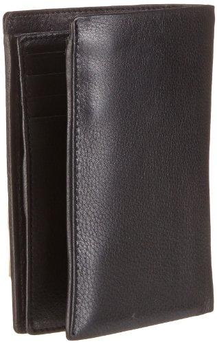 Strellson Carter BillFold V8 4010001188 Herren Geldbörsen 10x13x1 cm (B x H x T), Schwarz (black 900) Schwarz (black 900)