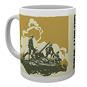 Call of Duty – WWII Comic Tasse