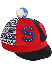 Eccellente Woollen Caps for Kids (Age 1 - 6 Years) - BaseBall - click for more colours