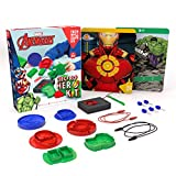 Technology Will Save Us Tech Will Save Us Avengers Electro Hero Kit, Educational Dough Stem Toy for Ages 4+