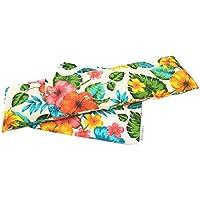 Carredana - Wärme-Säcke mit Weizenkernen, mit waschbarem Bezug, 50 x 16 cm, warm - kalt Wählen Sie Farbe und Duft... preisvergleich bei billige-tabletten.eu