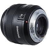 YONGNUO YN85mm f1.8 AF/MF moyen premier téléobjectif lentille fixe focale avec Andoer 58mm Kit de filtres (UV + CPL + FLD) pour Canon EF Mount EOS 7DII 5DII 5DIII 5D 5DSR 1 D Mark I/II/III/IV cameras