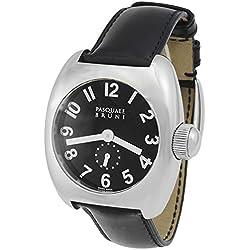 Pasquale Bruni Uomo Edelstahl Swiss Made Automatic Herren-Armbanduhr 01MA22
