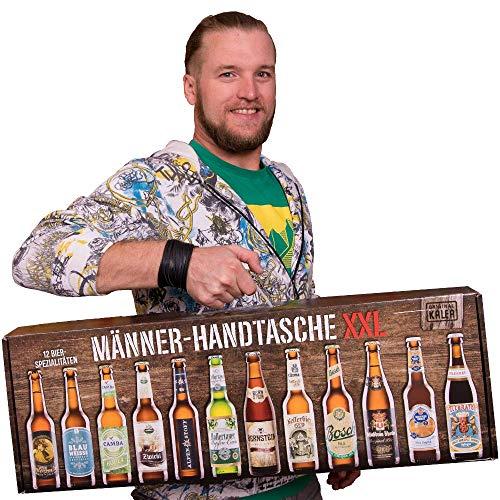 GeschenkIdeen.Haus - Männerhandtasche XXL von Kalea - 12x 0,33 l Bierflaschen Set