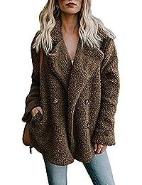 Abrigos de otoño Invierno, Dragon868 Abrigos de Chaqueta Parka Casual Mujer Invierno cálido