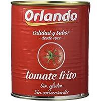 Orlando - Tomate Frito Clásico, Lata 800 g - [Pack de 6]