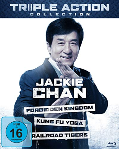 Jackie Chan Triple Action Collection (3 Blu-rays) (Blu-ray Chan Collection Jackie)