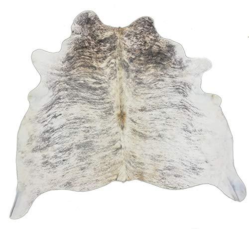 Zerimar Tappeto Pelle di Mucca Naturale Premium | Misure:180x190 CMS 2.96 m² | Tappeto Moderno Salotto | Tappeto Stanza da Letto