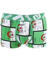 Pomm'poire - Boxer imprimé drapeau Algérie by Djembé - Homme