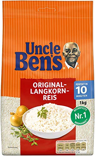 Uncle Ben's Original Langkorn Reis, 10 Minuten Lose, 6 Beutel (6 x 1000g)