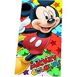 Disney Mickey Mouse toalla de playa, toalla de baño, 70 x 140 cm