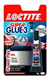 Loctite Super Glue-3 PowerFlex, adhesivo universal instantáneo, flexible, 3gr