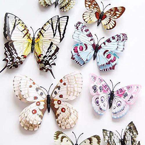 3D Schmetterlinge Magnet Wanddeko Wandtattoo viele Design zur Auswahl Teil 2