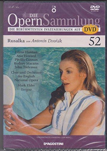 Die Opernsammlung - Die berühmtesten Inszenierungen auf DVD - Nr. 52 - Rusalka von Antonin Dvorak - ungekürzte Fassung 159 Min. (Arthaus Musik)