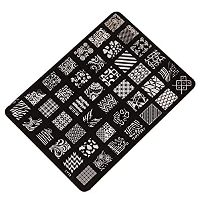 Tonsee® Nail Art Polish Image Stamp Stamping Plates Template Unghie Manicure Decorazione