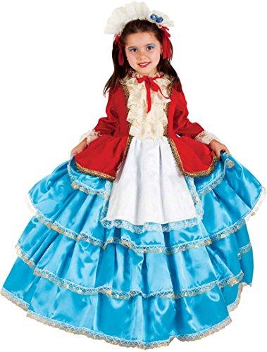 Carnevale Venizano CAV5046-5 - Kinderkostüm COLOMBINA BABY - Alter: 1-6 Jahre - Größe: 5 (Colombina Kostüme)