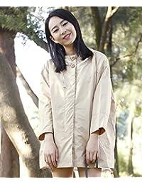 LHP Chubasqueroimpermeable Impermeable Raincoat Moda linda chaqueta transpirable Poncho chica Windbreaker ( Color : 2# , Tamaño : M )