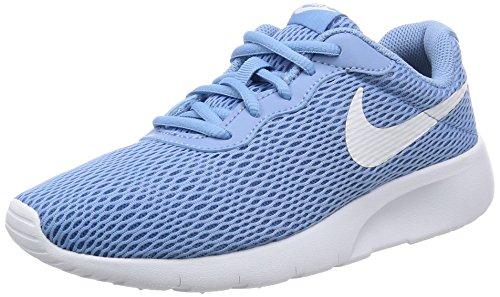 Nike Tanjun (GS) Mädchen Schuhe,December Sky/White-Thunder Blue,Gr. 36