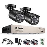 Best Zosi Vision Cameras - ZOSI 720p CCTV Système de Surveillance, Full 8CH Review