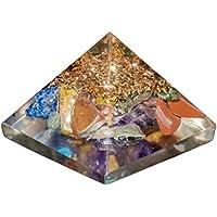 Crocon Mix Chakra orgone Pyramiden-Generator für Reiki Healing Aura-& EMF-Schutz-Größe: 1Zoll preisvergleich bei billige-tabletten.eu