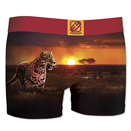 Freegun Herren Panties Boxer, 6er Pack Multicolore (Multicolor-1D2)