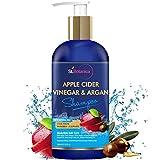 StBotanica Apple Cider Vinegar & Organic Argan Oil Hair Shampoo - 300ml - No Sulphate, No Parabens, No Silicon