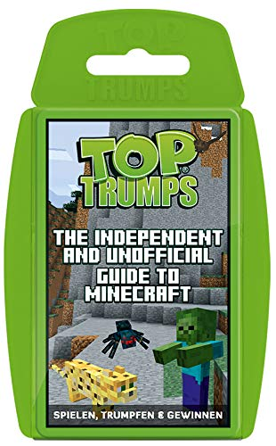 Winning Moves 63568 Top Trumps - The Independent and Unofficial Guide to Minecraft, Trumpfspiel