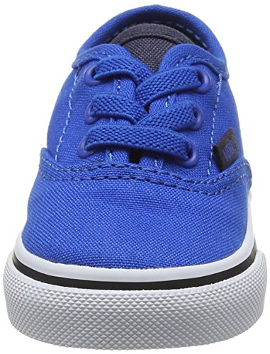 Vans Baby Jungen Td Authentic Elastic Lace Lauflernschuhe Blau (Canvas Imperial Blue/parisian Night)