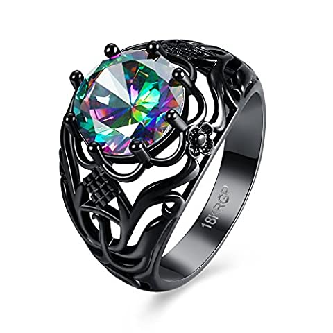 Luminous Fashion Popular Ring ,Multi-color,7