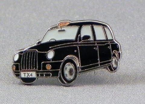 Badge à épingle en métal émaillé Motif taxi de Londres