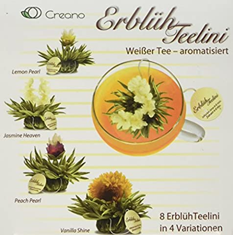 Creano Teaflowers Variation in the exclusive cup format