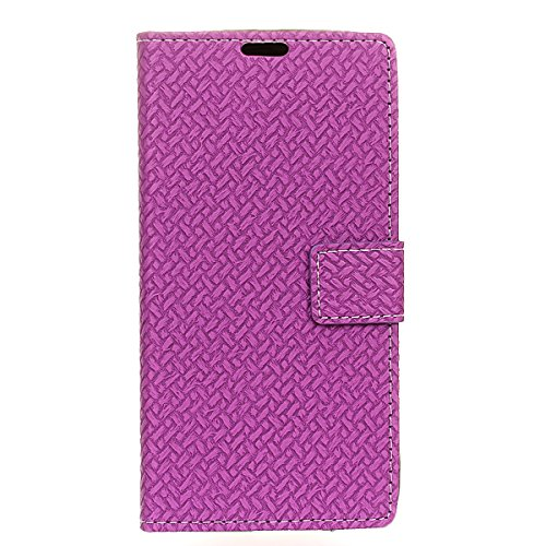Sharp Aquos Ever SH-02J - Protector New Wallet Style Flip Cover Case for Sharp Aquos Ever SH-02J Only (Sharp Aquos Ever SH-02J Cover Purple) - Aquos 42