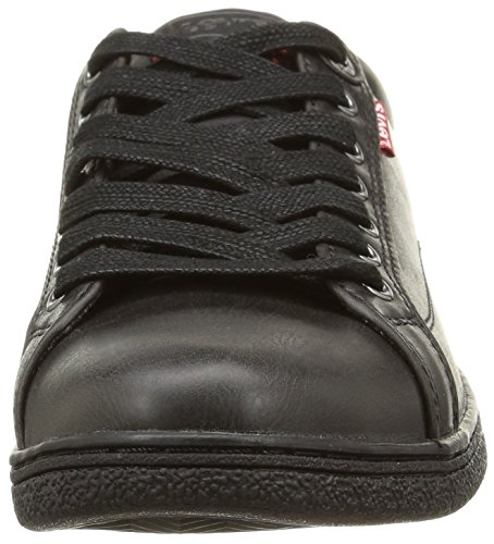 Levis Tulare Low, Sneakers Basses Homme Noir (159 Regular Black)