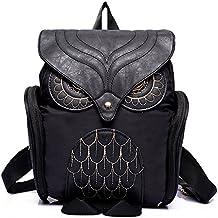 Pequeño y ligero, diseño de búhos mochila–3d con diseño de búho CASUAL Daypack para las niñas adolescentes