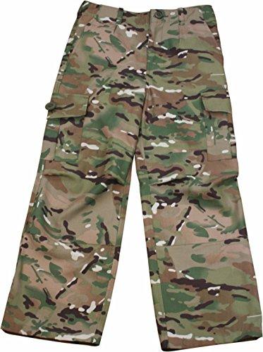 uflage Polycotton Combat Cargo Trousers (Soldier Boys Kostüme)