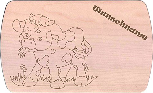 Farbklecks-Collection Frühstücksbrettchen - Farmtiere 3