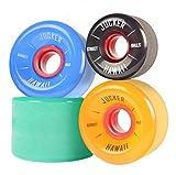 JUCKER HAWAII Longboard Rollen/Wheels STREETBALLS - in diversen Größen und Farben