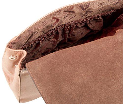 PICARD Honey 8733 Umhängetasche Damen Schultertasche Echtes Leder 26x22x7 cm (BxHxT), Farbe:Amarena Amarena
