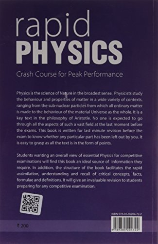 Rapid Physics - Crash Course For Peak Performance