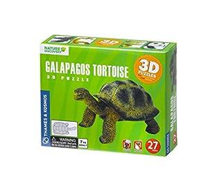 Themse und Kosmos 264930 Galapagos - Puzle en 3D, diseño de la Tortuga Galaos