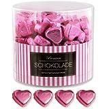 150 rosa Schokoladen Herzen Miami