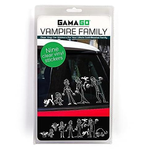 GAMAGO Vampire Family Car Stickers