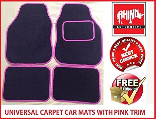 hyundai-sante-fe-06-12universal-pink-radkappe-teppich-auto-matte-set