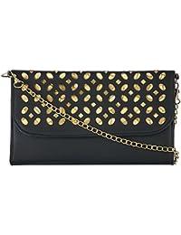 Fantosy Women's Sling Bag (Black, FNSB-007)