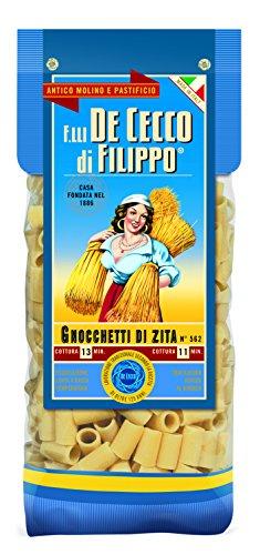 De Cecco GOURMET LINE - Pasta GNOCCHETTI DI ZITA - Special Cardboard Pack - 500g Pack of 4 (500g x 4)