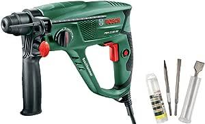 Bosch Bohrhammer PBH 2100 RE mit 3tlg. Meißel-Set SDS-Plus
